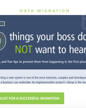 T2S Blog: Checklist For A Successful Data Migration