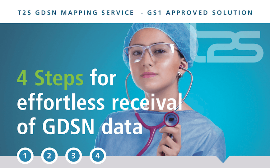 GDSN Mapping Service T2S GS1