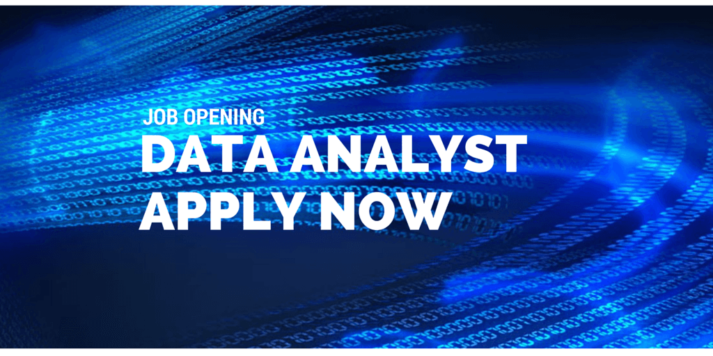 JOB OPENING data analyst