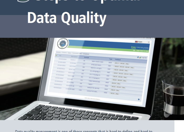 T2S Blog: 5 Steps to Optimal Data Quality